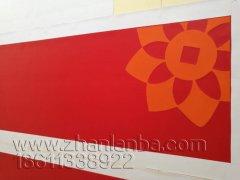 包头农商银行采用3MP2灯箱布+3M3630-33红色贴膜制作的门头灯箱